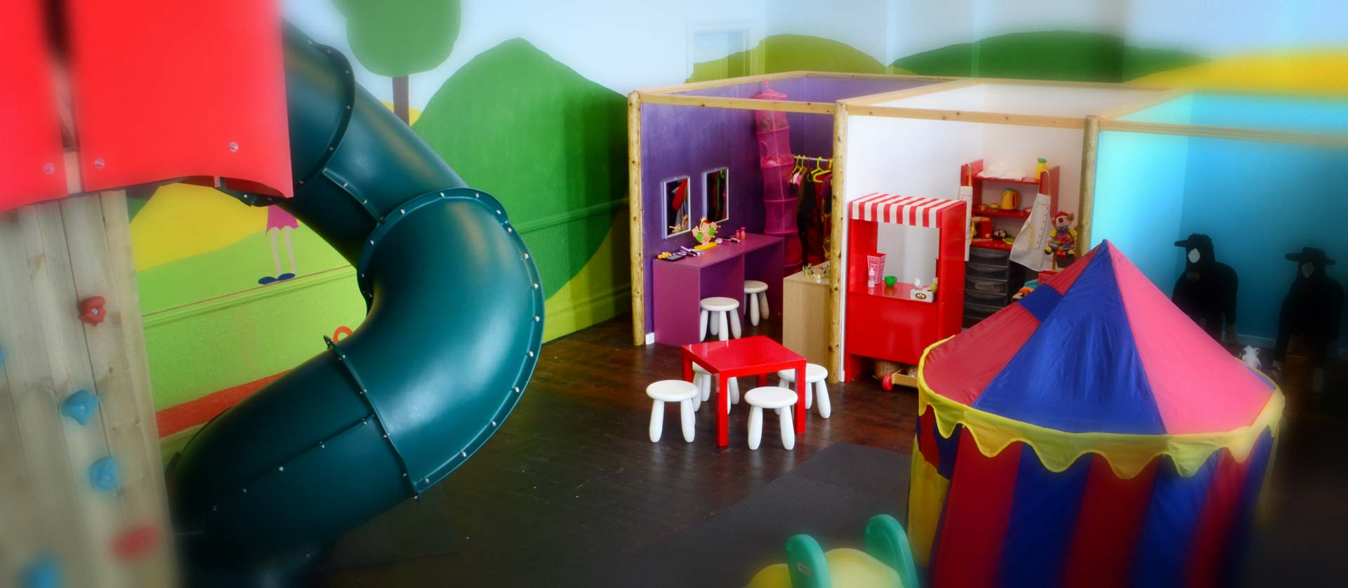 Fantasy play room at Magical Circus.