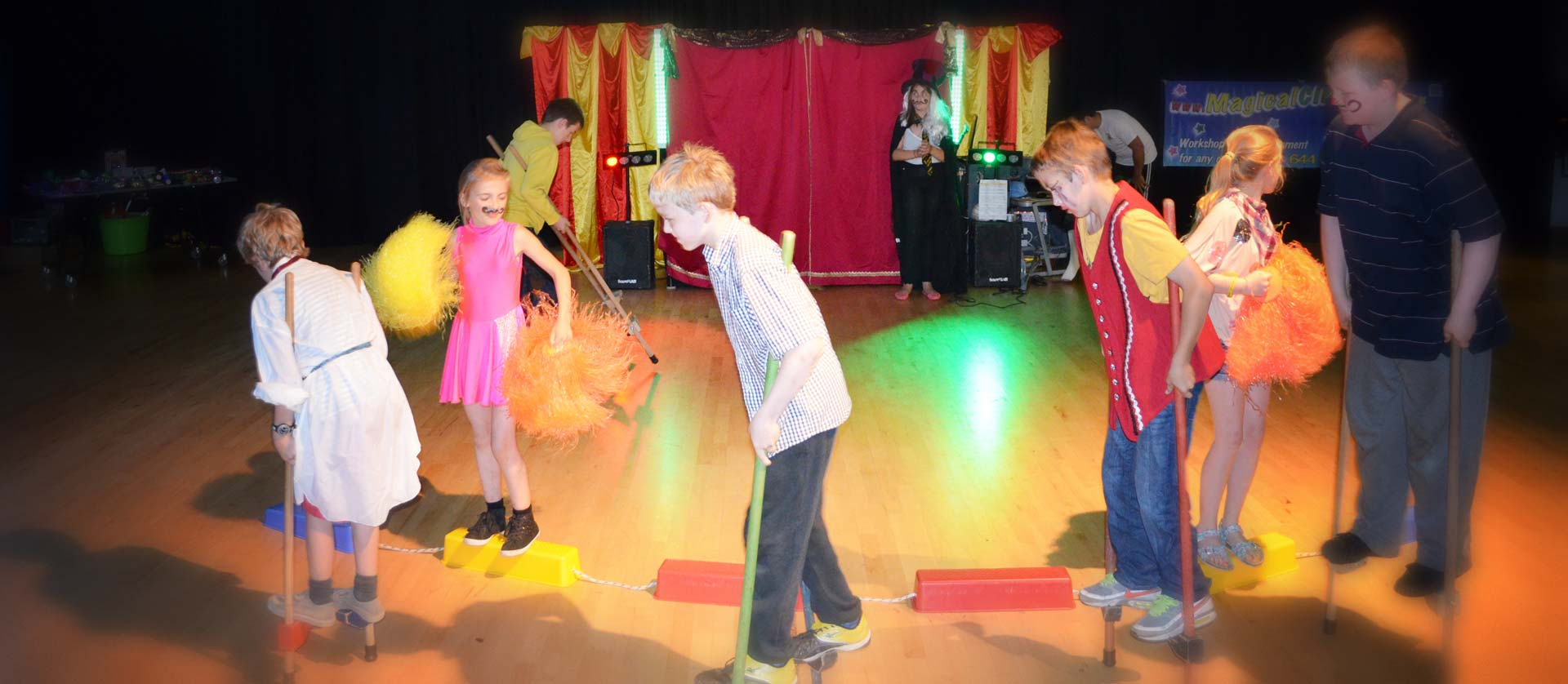 Magical Circus workshops for schools.