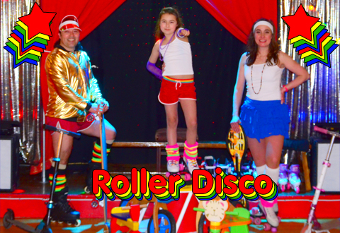 Roller Disco Childrens Birthday Parties At Magical Circus