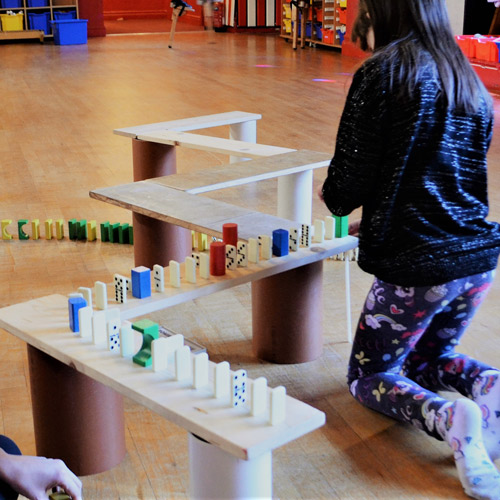 Children's imaginative play sessions