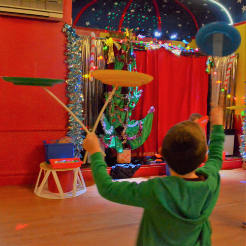 Circus skills for all levels.