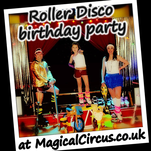 Roller Disco children's Birthday parties.